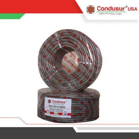 cable vulcanizado nlt 3x16awg