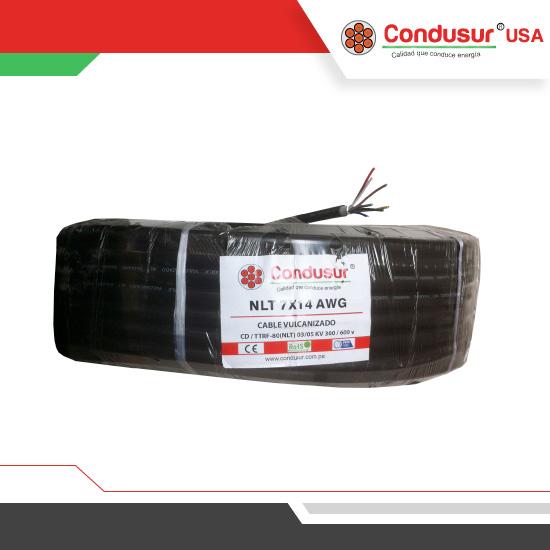 cable vulcanizado nlt 7x14awg
