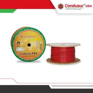 cable de alarma contra incendio fpl 2x14 16 18 22 awg