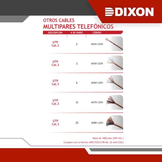 MULTIPARES TELEFÓNICOS - GRUPO YLLACONZA