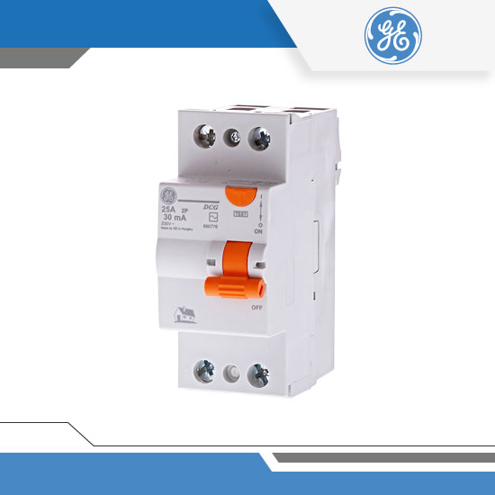 INTERRUPTORES DIFERENCIALES RIEL DIN 2P – SERIE DMS - GENERAL ELECTRIC