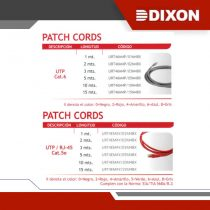 PATCH CORDS - GRUPO YLLACONZA