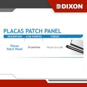 PLACAS PATCH PANEL - GRUPO YLLACONZA