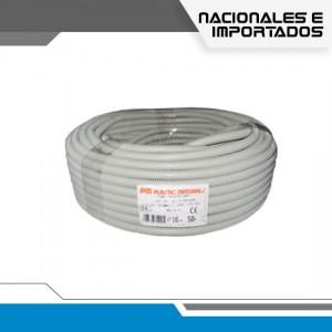 TUBERIA CORRUGADA FLEXIBLE GRIS PVC - GRUPO YLLACONZA