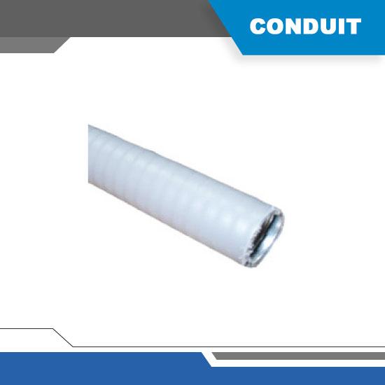 TUBERIA FLEXIBLE GALVANIZADO CON FORRO DE PVC 3/4″